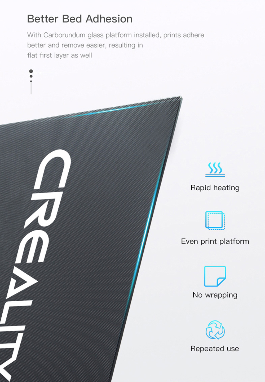 Creality3D CR-5 Pro 3D-Drucker - 300x225x380mm - Carborundum Druckplattform