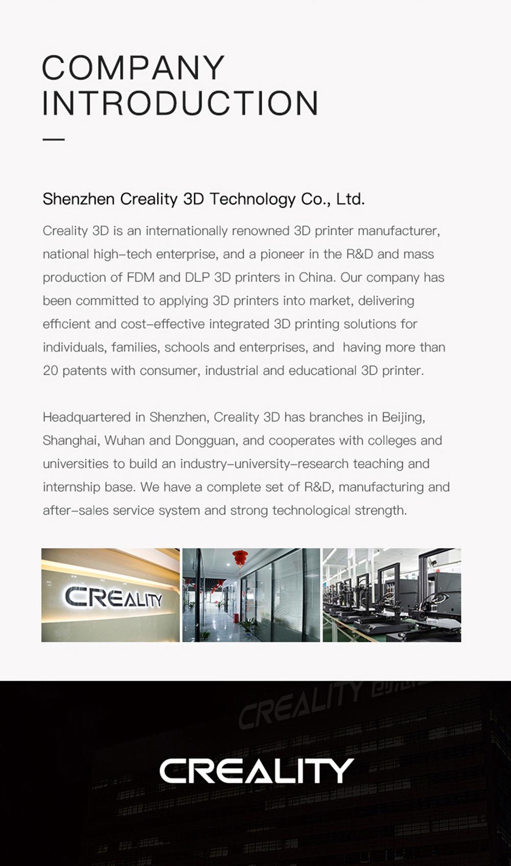 Creality3D CR-5 Pro 3D-Drucker - 300x225x380mm - Firmenvorstellung