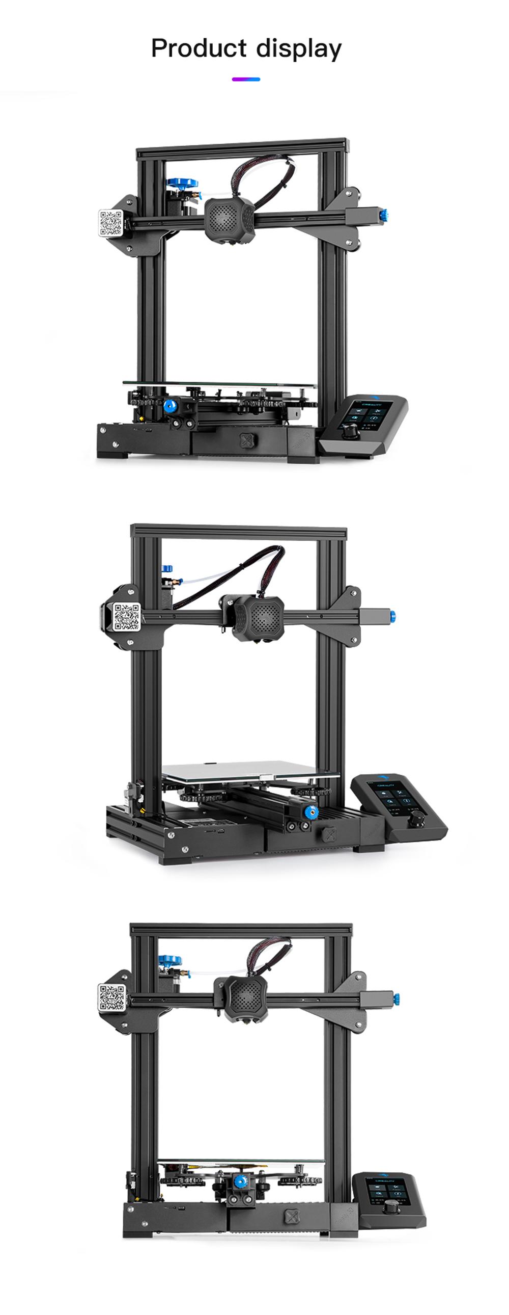 Creality3D Ender 3 V2 3D-Drucker Bausatz - 220x220x250mm - Verschiedene Druckeransichten