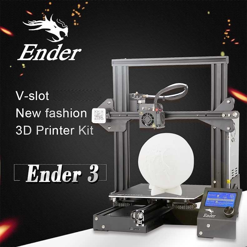 Creality3D Ender 3 3D-Drucker Bausatz - 220x220x250mm - Vorstellung Ender 3