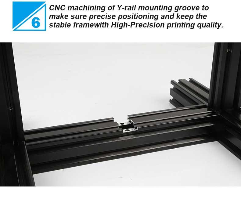 Creality3D Ender 3 3D-Drucker Bausatz - 220x220x250mm - CNC gefräßte Y-Schienenführung