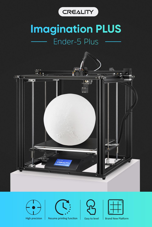 Creality3D Ender 5 Plus 3D-Drucker Bausatz - 350x350x400mm - Vorstellung Ender 5 Plus