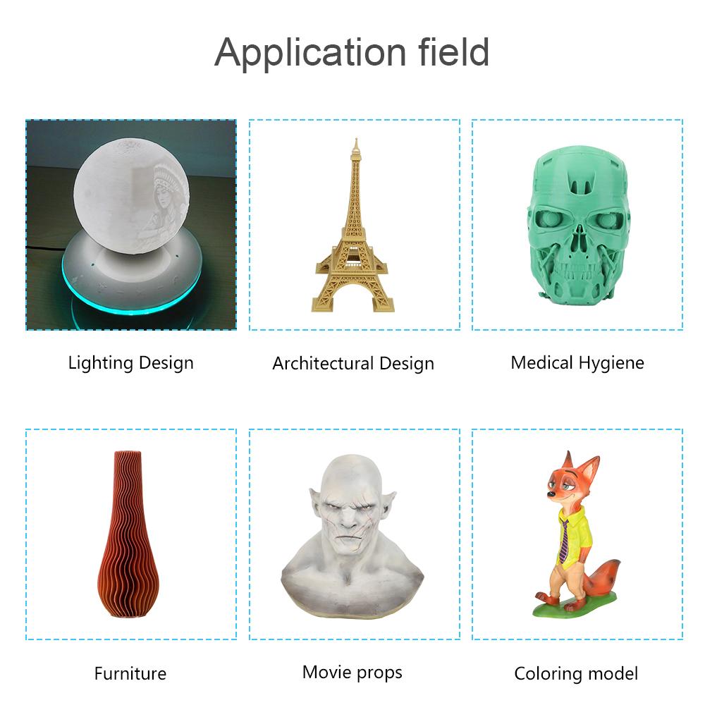 Creality3D Ender-5 3D-Drucker Bausatz - 220x220x300mm - Anwendungsbeispiele
