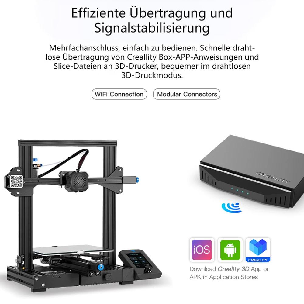 Creality3D WiFi Box CWB - Effiziente Übertragung und Signalstabilisierung